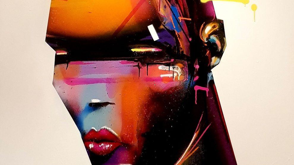 AROE- Grace Jones Graffiti