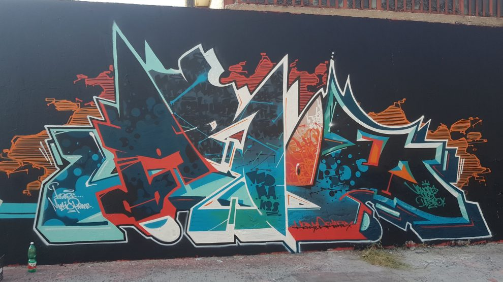 AROE Graffiti Wall Painting